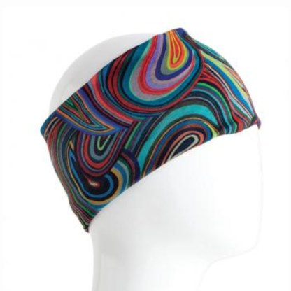 Infinity Bandana-Colorful Swirls