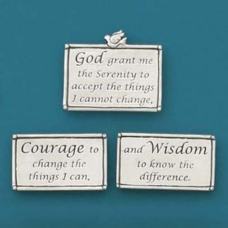 Serenity Prayer Pewter Magnets