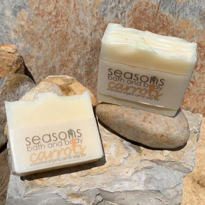Unscented Organic Carrot Soap