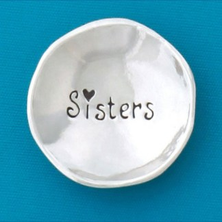 Sisters Pewter Charm Bowl