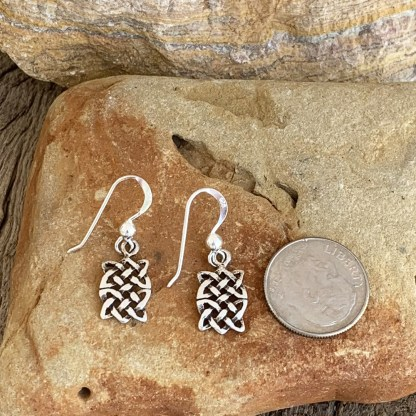 Sterling Celtic Knot Earrings