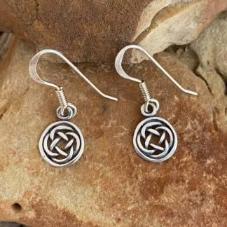 Sterling Celtic Weave Earrings