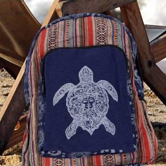 Navy Sea Turtle Backpack