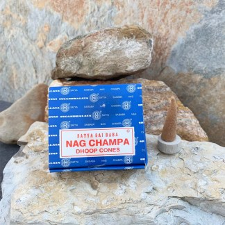 Nag Champa Dhoop-Incense Cones