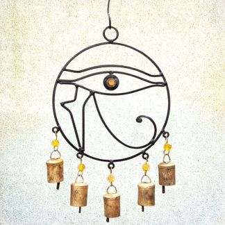 Eye of Horus Wind Chime