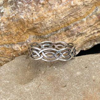 Sterling Celtic Knot Band
