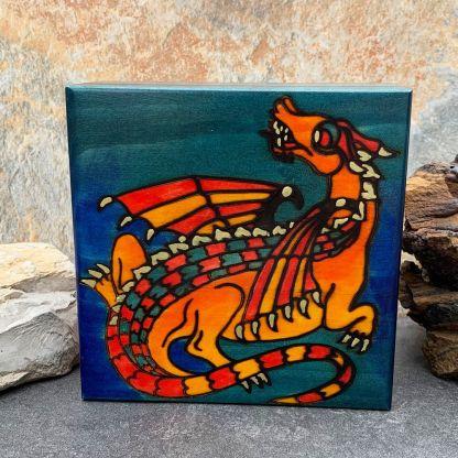 Celtic Earth Dragon Box