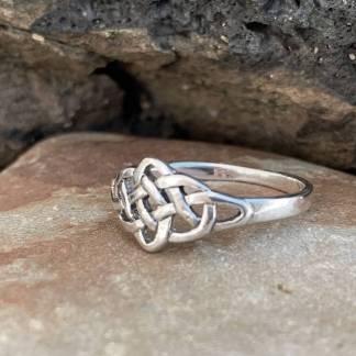 Sterling Celtic Knot Ring