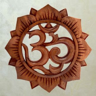 Om & Lotus Wall Decor