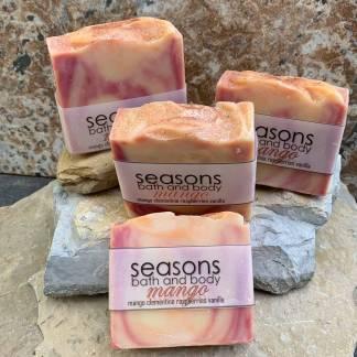 All-Natural Artisan Mango Soap
