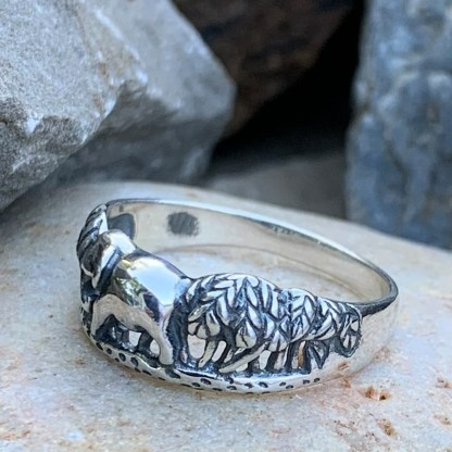 Elephant in Trees Ring