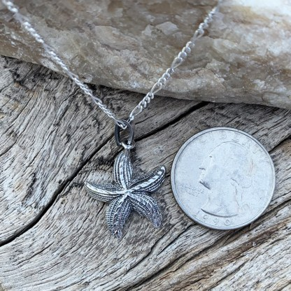 Sterling Silver Starfish Pendant