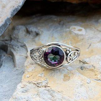 Mystic Topaz Grapevine Ring