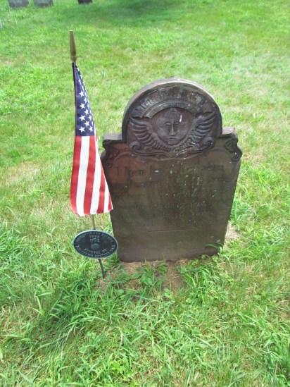 Katrina Van Tassel's grave