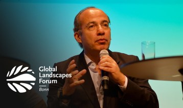 Mexico's Felipe Calderón on how to make land restoration profitable: energy, cities, landscape