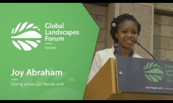 Joy Abraham – Closing plenary GLF Nairobi 2018