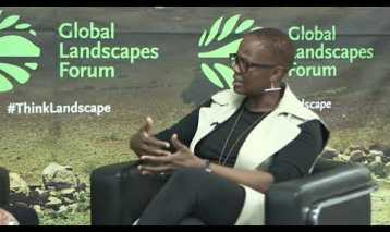Wanjira Mathai at GLF Nairobi: community engagement is key