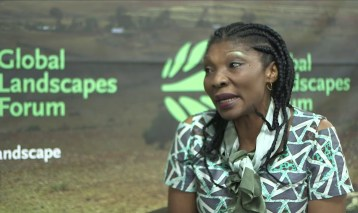 Cécile Ndjebet talks to GLF about women's roles in landscapes