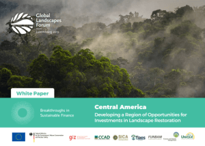 Central America: Developing a Region of Opportunities for investments in Landscape Restoration – White paper