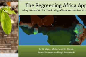 The Regreening Africa App -A key innovation for monitoring of land restoration at scale