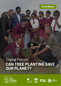 Event Report – Digital Forum: Can Tree Planting Save Our Planet?