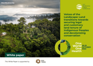 Voices of the Landscape: Land transitions towards securing legal and customary land tenure of Indigenous Peoples and decolonizing conservation