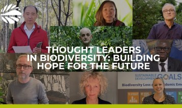 Thought leaders in biodiversity: Building hope for the future