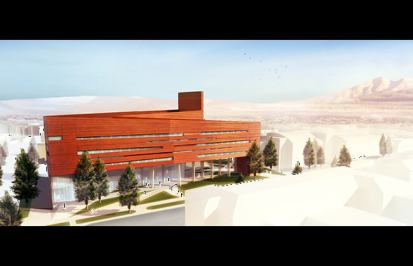 NAU Science & Health Building - East Rendering
