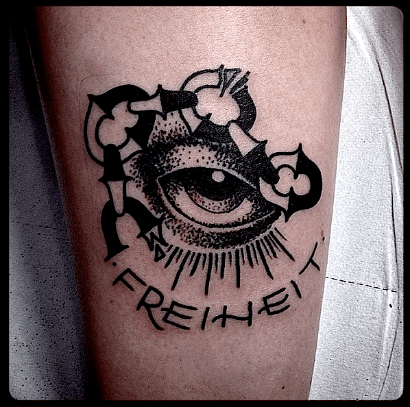 Conrad Glaube Liebe Hoffnung Tattoo
