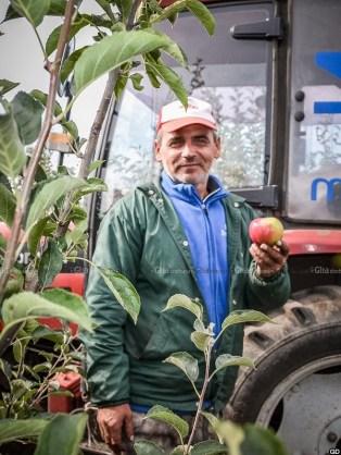 Tractoristul Valeriu MUSTEAȚĂ. © Liuba Bulgaru/GD