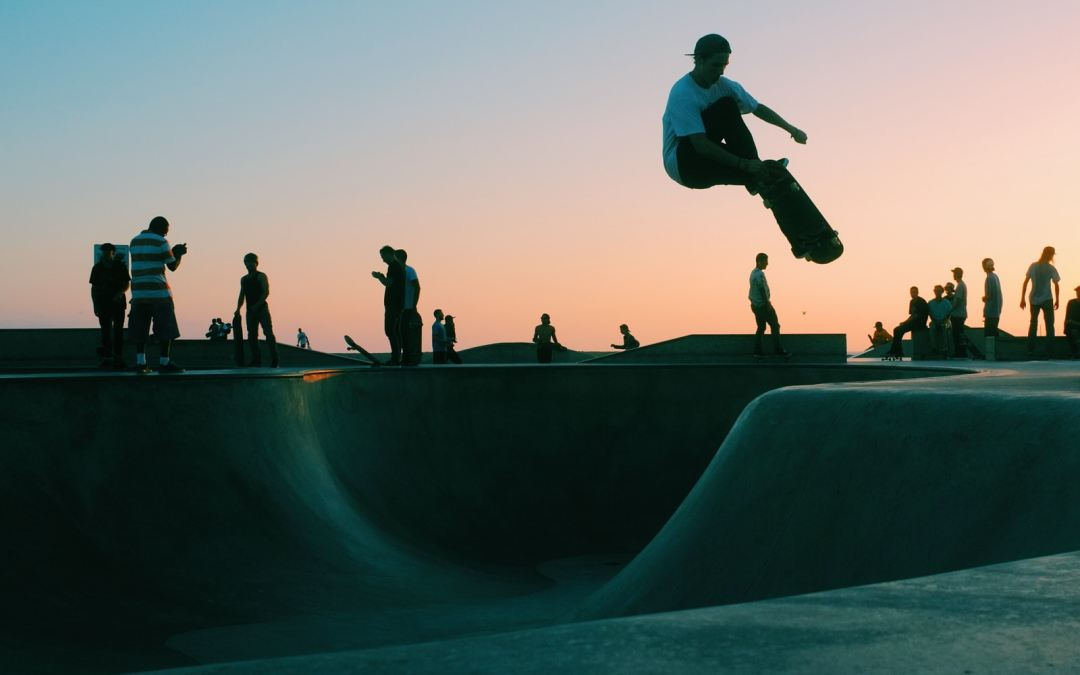 A trip to an Iconic skate spot