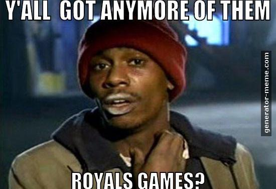 Things the Royals have taught me, 2015 edition