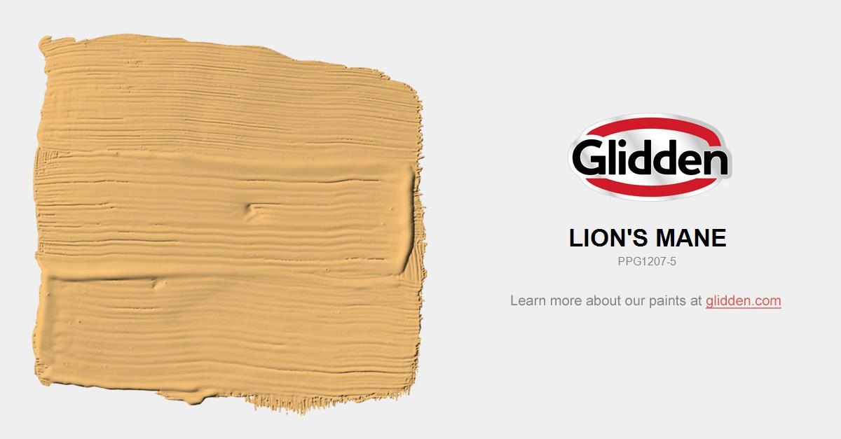 Lion S Mane Paint Color Glidden Paint Colors