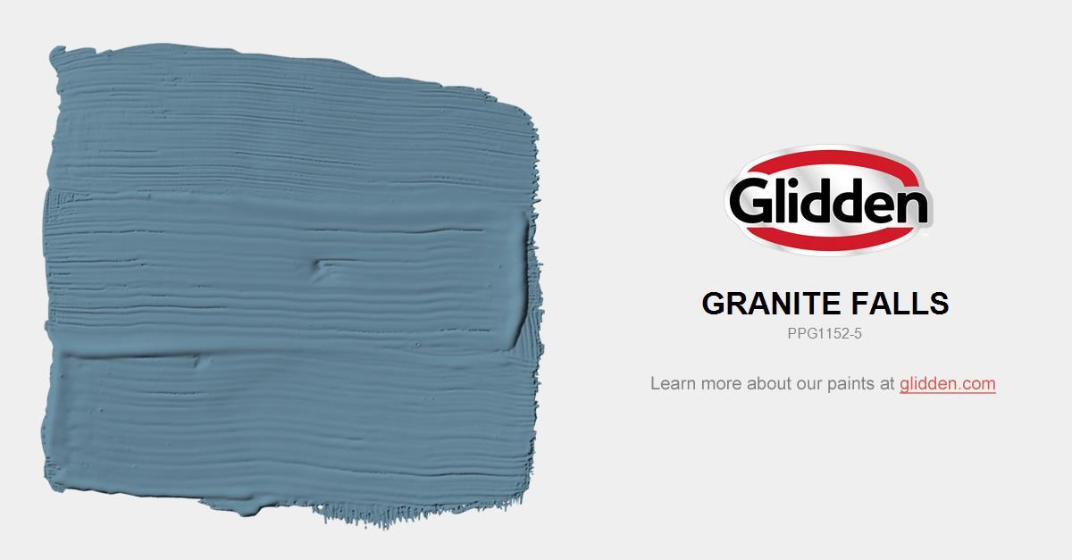Granite Falls Paint Color Glidden Paint Colors