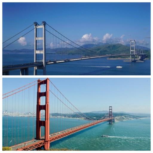 青馬大橋vs金門大橋