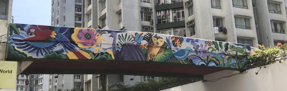 【香港好去處】17個香港壁畫打卡點─香港壁畫村、壁畫街、街頭藝術──香港壁畫──黃埔天地