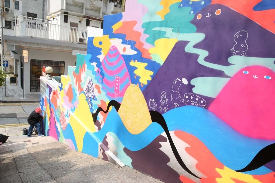 【香港好去處】17個香港壁畫打卡點─香港壁畫村、壁畫街、街頭藝術──香港街頭藝術──上環壁畫街