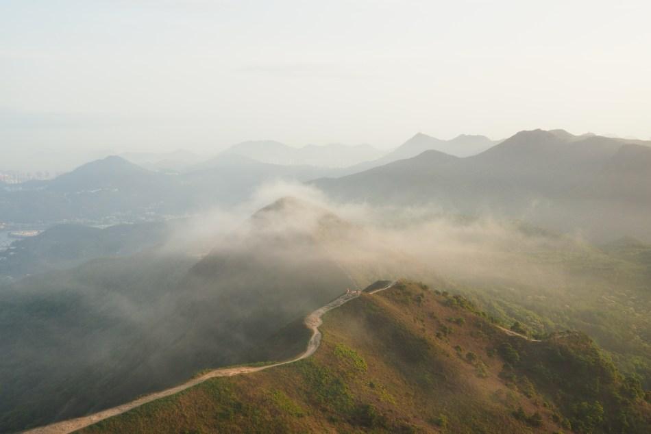 西貢好去處 天空之城 彎曲山
