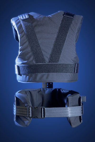 Glidecam X-20 Support Vest (Back View)