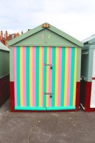 Colourful Beach Hut