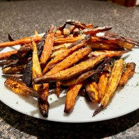 Air-Fryer Carrot Fries
