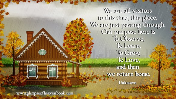 We are all visitors