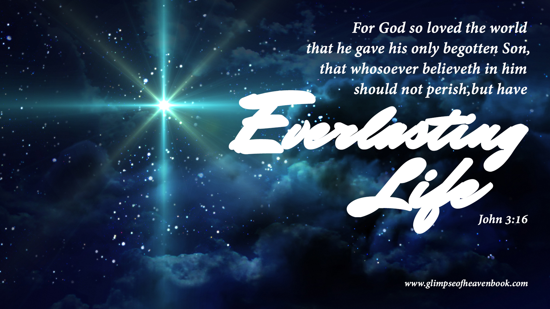 For God So Loved the World - A Glimpse of HeavenA Glimpse ...