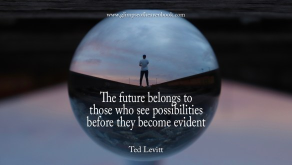 The future belongs to those who see possibilities before they become evident   Ted Levitt
