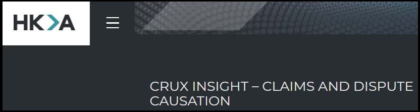CRUX provides valuable insight into claims and dispute causation from major capital projects around the world