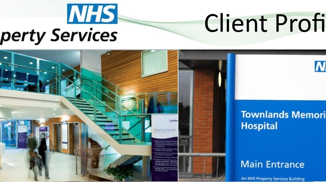 NHS Property Services relies on PMWeb to manage its UK property portfolio