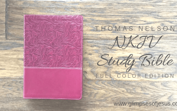 Review and Giveaway of the NKJV Study Bible: Full Color Edition