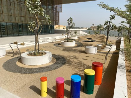 House of Wisdom, Sharjah outside play area