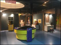 Interactive exhibits at Sharjah Science Museum