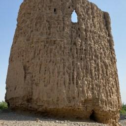Old mud watchtower at Khatt, Ras al Khaimah